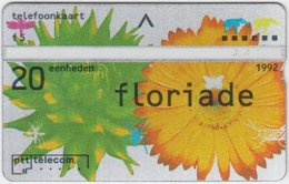 NETHERLANDS A-469 Hologram Telecom - Painting, Plant, Flower - 203A - Used - Netherlands