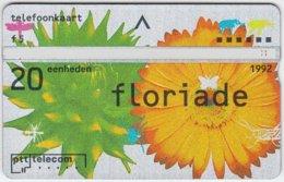 NETHERLANDS A-602 Hologram Telecom - Event, Floriade, Plant, Flower - 202C - Used - Netherlands