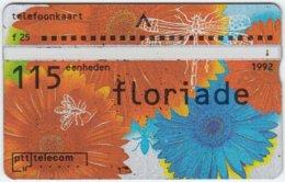 NETHERLANDS A-610 Hologram Telecom - Event, Floriade, Plant, Flower - 223E - Used - Netherlands