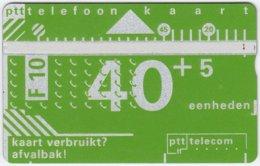 NETHERLANDS A-630 Hologram Telecom - 011E - Used - Netherlands