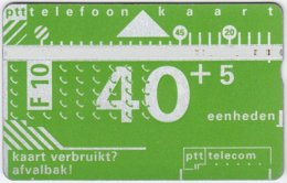 NETHERLANDS A-633 Hologram Telecom - 101C - Used - Netherlands