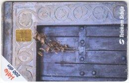 SERBIA A-322 Chip Telekom - Culture, Doorway - Used - Yugoslavia