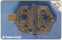 SERBIA A-349 Chip Telekom - Culture, Craft - Used - Yugoslavia
