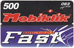 SERBIA A-354 Prepaid Mobiklik - Used - Yugoslavia