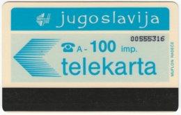 YUGOSLAVIA A-362 Magnetic - Used - Yugoslavia