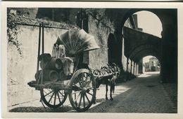 Roma. Via SS.Giovanni E Paolo. Caratteristico Carro Da Vino - Lot.1381 - Transports