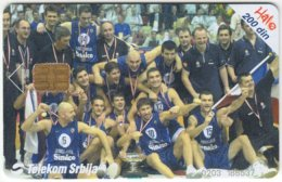 SERBIA A-371 Chip Telekom - Sport, Basketball - Used - Yugoslavia