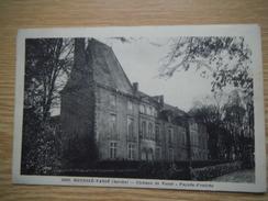 Rouessé-Vassé  Château Façade D'entrée - Altri Comuni