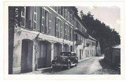 Cpa Carte-photo Peira Cava, Hôtel Truchi, Automobile Packard ? - France