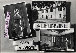Emilia Romagna-ravenna-alfonsine Vedute Casa Di V.monti - Autres Villes
