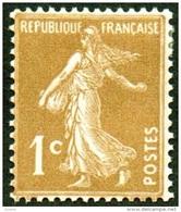 France N°  277 B ** Semeuse De Roty - 1 Ct  Bistre Brun - France