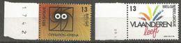 Belgium - 1988 Regions Set Of 2  MNH **    Sc 1284-5 - Belgium