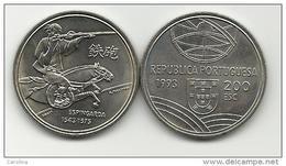 PORTUGAL- 200 ESCUDOS-KM#666-1993-1543/1575 MOUNTED CAVALRYMAN -RIFLE -UNC-COPPER-NICKEL - Portugal