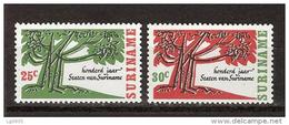 Suriname 458-459 MNH ; 100 Jaar Staten Van Suriname 1966 NOW SPECIAL SURINAME SALE - Suriname ... - 1975
