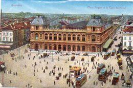 BRUXELLES - Place Rogier Et La Gare Du Nord - Tramways (101489) - Non Classificati