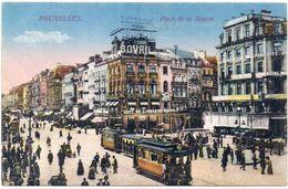 BRUXELLES - Place De La Bourse- Tramways (101490) - Non Classificati