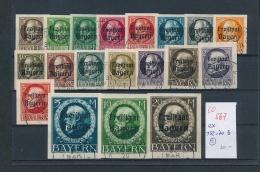 Bayern Lot  Ex 152-70 B ...   (oo567 ) Siehe Bild - Bavière