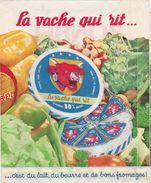 Sachet Publicitaire BONBEL / La Vache Qui Rit / Lait Beurre Fromage Fondu - Publicités