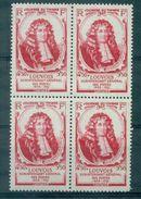 FRANCE N°779 Journée Du Timbre 1947 Bloc De 4  N Xx Cote : 5.40 € Tb. - France