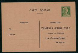 TSC Mul - A, A 4 D, 1956 Cinéma - Publicité - Ganzsachen
