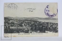 Old Postcard Turkey - Salut De Trebizonde - Quartier De Baté-itchi - Posted 1910 - Turquia