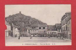 Forbach  --  Place Du Marché --  Abimée - Forbach