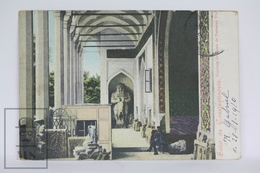 Old Postcard Turkey - Salut De Constantinople - Vestibule Du Palais De Fayences - Posted 1910 - Turquia