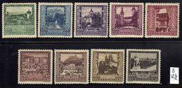 Österreich/Austria 1923 Mi 433-441 * [100118LAIII] - 1918-1945 1st Republic