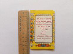 Calendar Rizzo Vincenzo Salone Tripoli Napoleon 1941 - Calendars