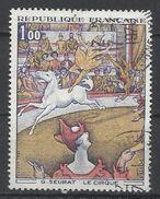 """Francia. 1969. Obra De Arte. """"El Circo"""" - Impresionismo"""