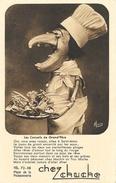 Publicité Restaurant Chez Chuche, St Saint-Malo - Les Conseils De Grand'Père - Photo Signée Morice, Carte Non Circulée - Advertising