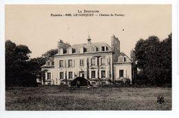 - CPA LE CONQUET (29) - Chateau De Pentsep - Edition Tesson (MTIL) 6086 - - Le Conquet