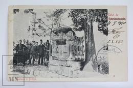 Old Postcard Turkey - Salut De Constantinople - Fontaine A Biledjik - Posted 1910 - Turquia