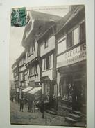 55  LANNION  Vieilles Maisons De La Rue Des Chapeliers  1907 (le Calvez Cordonnier) - Lannion