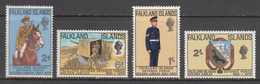 Falkland Island MNH Michel Nr 183/86 From 1970 / Catw 13.00 EUR - Falklandeilanden