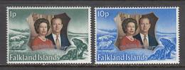 Falkland Island MNH Michel Nr 218/19 From 1972 / Catw 1.70 EUR - Falklandeilanden