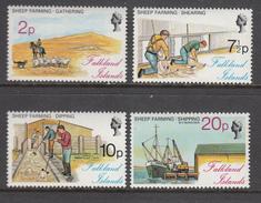 Falkland Island MNH Michel Nr 245/48 From 1976 / Catw 9.00 EUR - Falklandeilanden