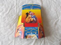 Objet Publicitaire Du Cirque Pinder Jean Richard Porte Dépliant - Advertising