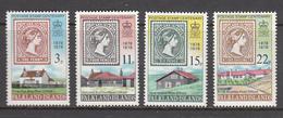 Falkland Island MNH Michel Nr 275/78 From 1978 / Catw 3.70 EUR - Falklandeilanden