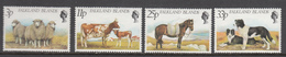 Falkland Island MNH Michel Nr 316/19 From 1981 / Catw 4.20 EUR - Falklandeilanden