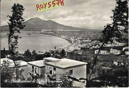 Campania-castellammare Di Stabia Panorama Aereo Particolare Veduta Case Da Vicino Anni 50 - Castellammare Di Stabia