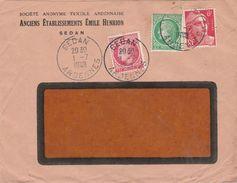 Enveloppe Commerciale 1948 / Anciens Ets Emile HENRION  / Confection / 08 Sedan / Ardennes - Maps