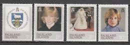 Falkland Island MNH Michel Nr 346/49 From 1982 / Catw 4.00 EUR - Falklandeilanden