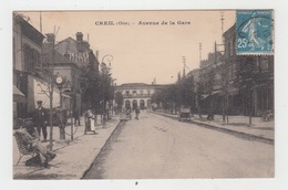 60 - CREIL / AVENUE DE LA GARE - Creil