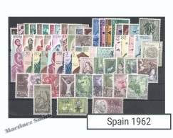 Complete Year Set Spain 1962 - 75 Values - Yv. 1079-1147 / Ed. 1406-1480, MNH - Años Completos