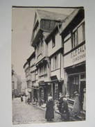 55  LANNION  Vieilles Maisons De La Rue Des Chapeliers  1913 (le Calvez Cordonnier) - Lannion