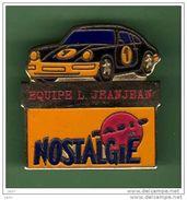 PORSCHE *** EQUIPE L JEANJEAN *** RADIO NOSTALGIE *** A005 - Porsche