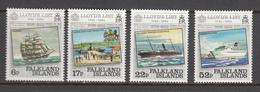Falkland Island MNH Michel Nr 407/10 From 1984 / Catw 5.50 EUR - Falklandeilanden
