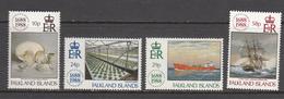 Falkland Island MNH Michel Nr 484/87 From 1988 / Catw 7.50 EUR - Falklandeilanden