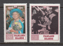 Falkland Island MNH Michel Nr 527/28 From 1990 / Catw 7.50 EUR - Falklandeilanden